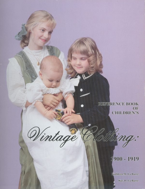 Reference Book of Children's Vintage Clothing 1900-1919