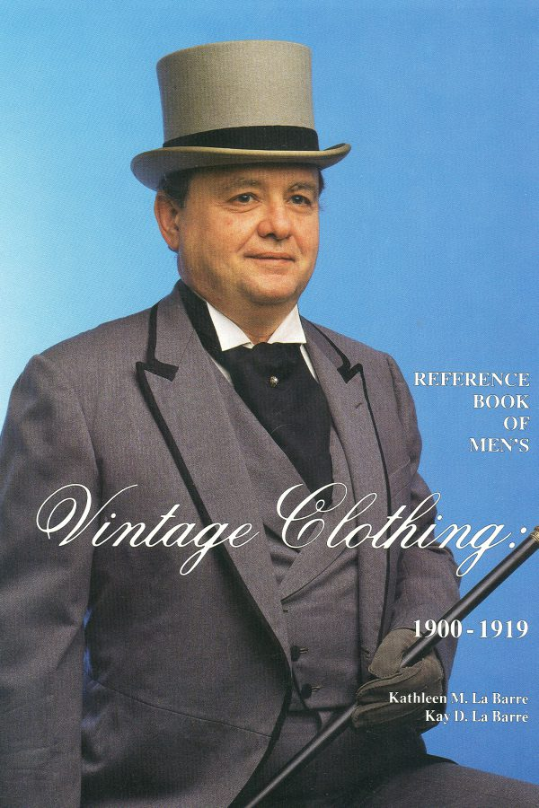 Reference Book of Men's Vintage Clothing 1900-1919