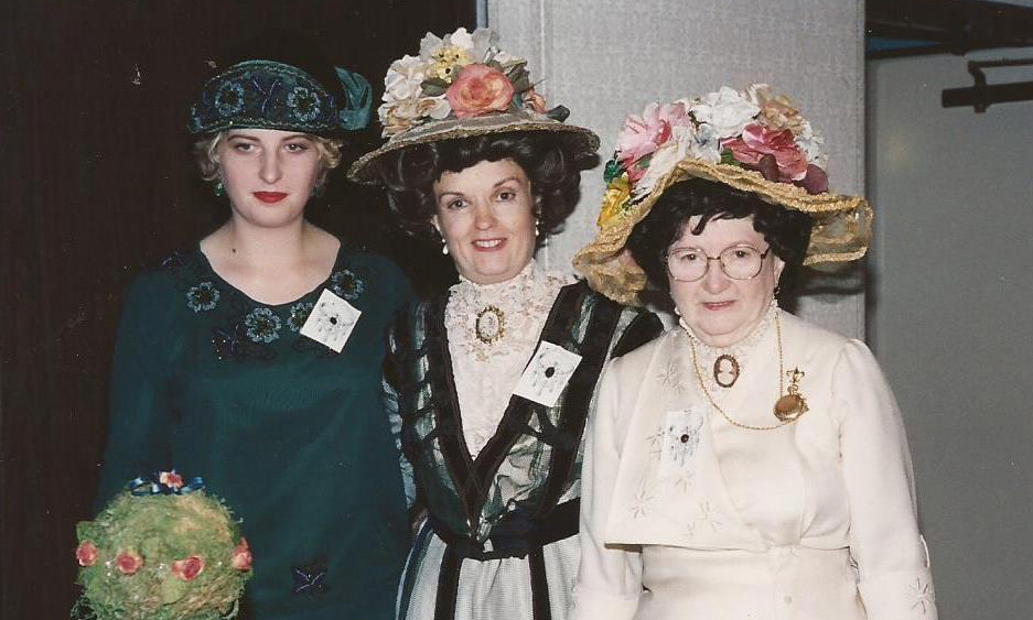 About the authors - collectors of vintage clothing