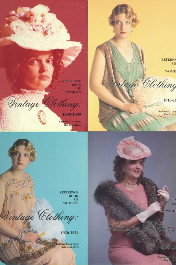 Complete Fashion Reference Books on on Women's Vintage Clothing 1900-1939